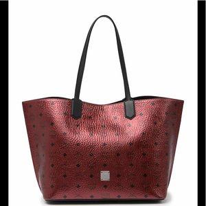 ❣️MCM AUTH Medium Spot Visetos Leather Shopper.